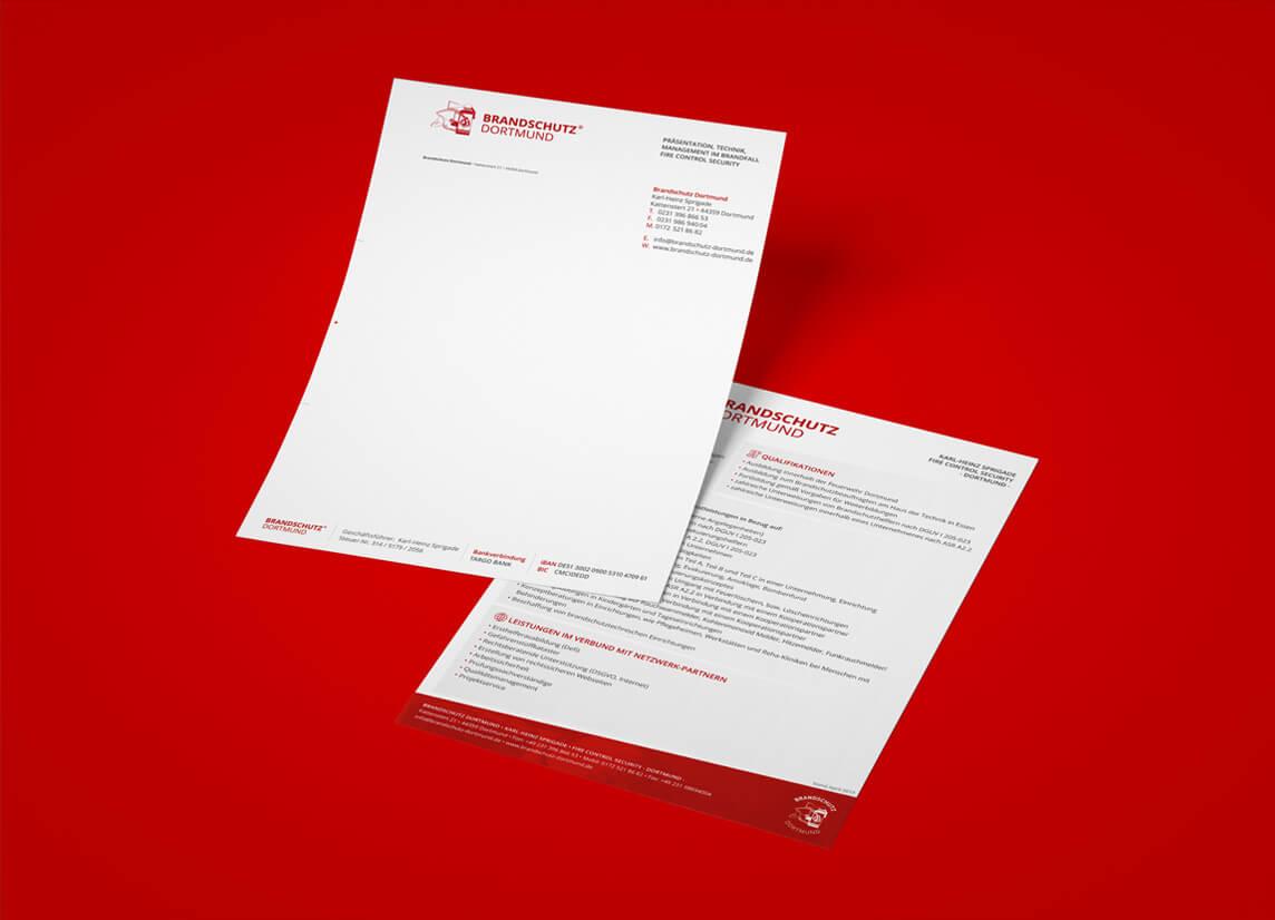 mediadesign linke portfolio - Gestaltung von Formularen / Printmedien
