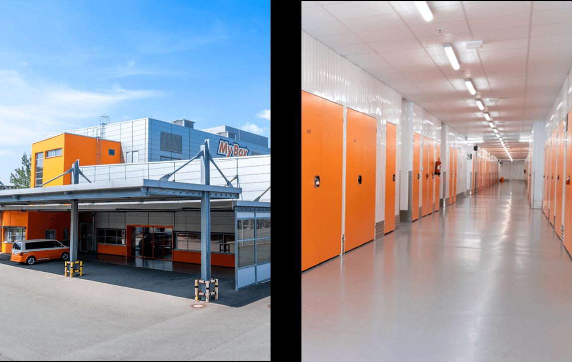 MyBox Münster - Ansicht der Filiale und Gänge bei MyBox Self Storage