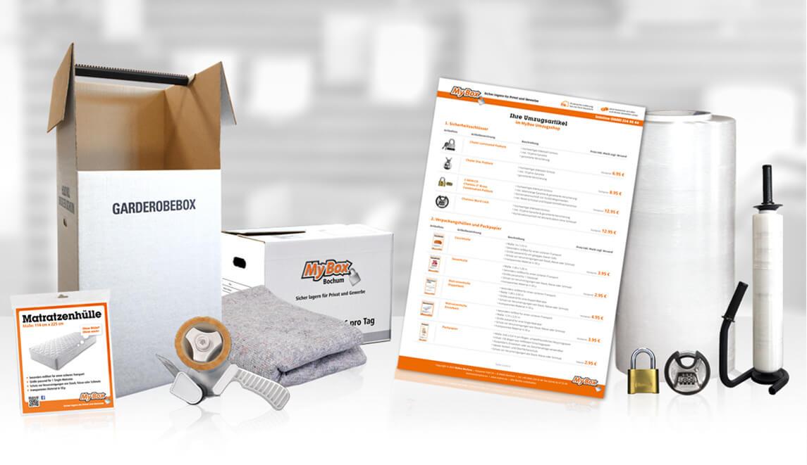 mediadesign linke - MyBox Bochum Umzugsshop Artikel Fotografie und Design