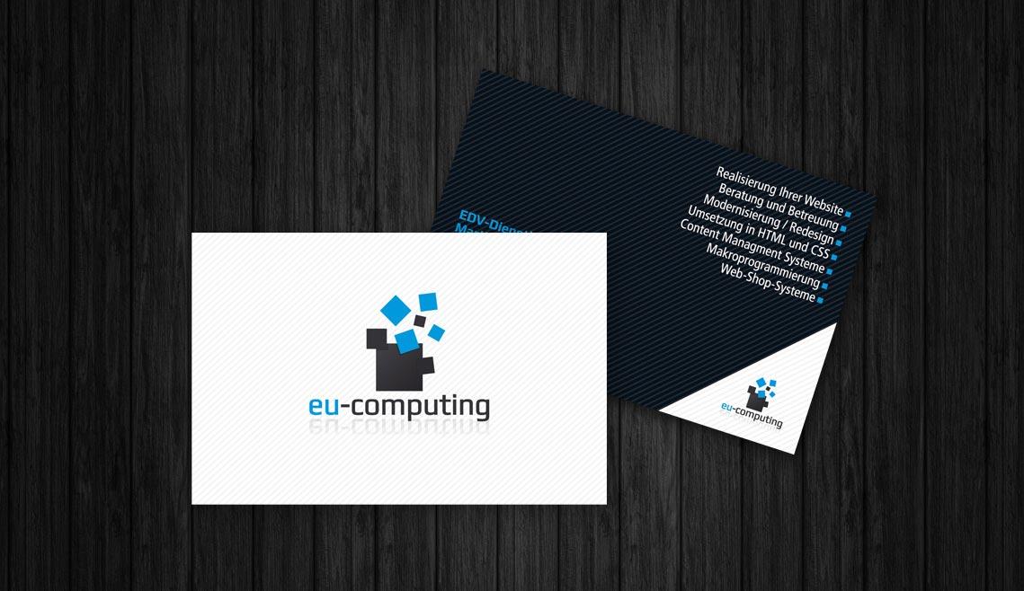 mediadesign linke portfolio - Visitenkarte für eu-computing.com