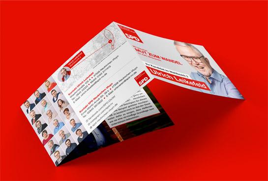 mediadesign linke & Netzwerk Kommpakt - SPD Neukirchen-Vluyn Kampagne 2020