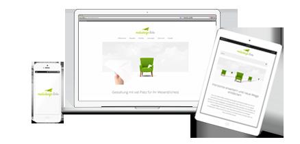 Logo Design |mediadesign linke | Webdesign aus Essen -  Corporate Design und Logoentwicklung - einheitliches Design vom Smartphone, Tablet und Labtop