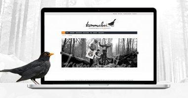 Webseite gestalten | Webdesign von mediadesign linke für Kommabei - Handgemachtes und Rares