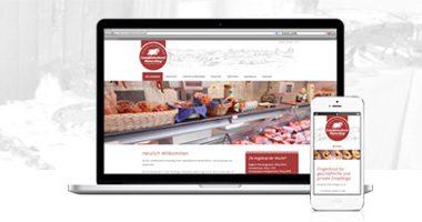 Webseite gestalten | mediadesign linke - Webdesign / Gestaltung und Programmierung für die Landfleischerei Hinterding in Krefeld