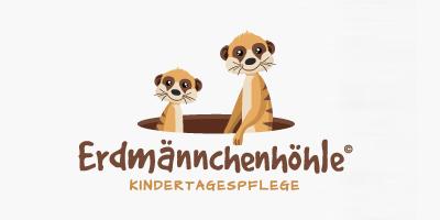 mediadesign linke Logo Design Logoentwurf für die Erdmännchenhöhle in Essen