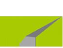 Logo Design | Papierflieger in Grün von mediadesign linke