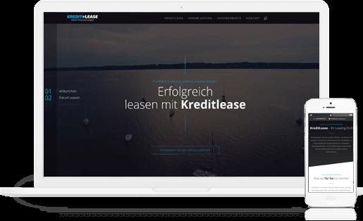 mediadesign linke - webdesign, Umsetzung und Programmierung für kreditlease.com