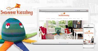 Webseite gestalten | mediadesign linke - Gestaltung und Realisation Webseite für die Psychotherapie Susanne Kiessling in Bochum - Psychotherapeutische Praxis für Kinder und Jugendliche