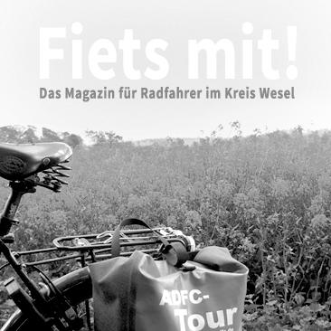 """ADFC – """"Fiets mit!"""" – Jahresmagazin Kreis Wesel 2014 / 2015 / 2016"""