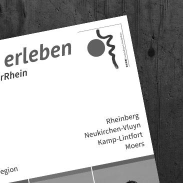 Landschaftspark Niederrhein – Imagebroschüre und Flyer