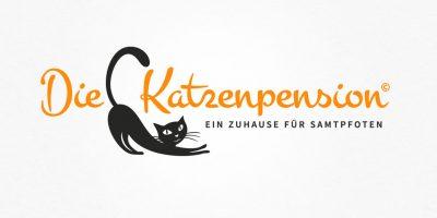 Logo Design | mediadesign linke Logoentwicklung für die Katzenpension Andrea Viehl http://www.die-katzenpension-reiskirchen.de/