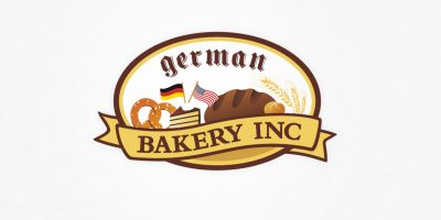Logo Design | mediadesign linke Logoentwicklung Logodesign für German Bakery Inc.