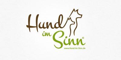 Logo Design | mediadesign linke Namens- und Logoentwicklung von mediadesign linke für Hund im Sinn, Annelore Sippekamp auf www.hund-im-sinn.de