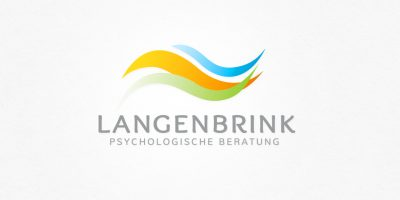 Logo Design | mediadesign linke Logoentwicklung Psychologische Beratung Langenbrink