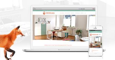 Webdesign / Webseite gestalten mit mediadesign linke in Essen - Psychotherapie Carmen Stricker-Bombeck in Bochum