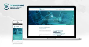 Webdesign / Webseite gestalten mit mediadesign linke in Essen - Projektbeispiel www.service-essen.de Thomas Humann Datenschutz und mehr
