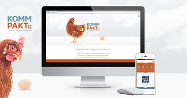 Webseite gestalten | Webdesign aus Essen von mediadesign linke - webseite design gestaltung für kommpakt netzwerk