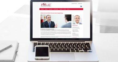 Webseite gestalten | Webdesign von mediadesign linke für Polat Finanzen in Essen