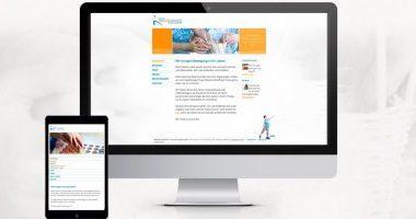 Webseite gestalten | Webdesign von mediadesign linke für die Ergotherapie Meiderich Melanie Schaffrath
