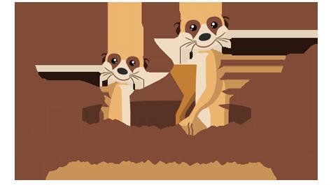Logodesign und Logo Gestaltung von mediadesign linke in Essen für die Erdmännchenhöhle - Kindertagespflege in Essen