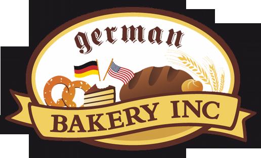 mediadesign linke Logoentwicklung / Logodesign für German Bakery Inc.