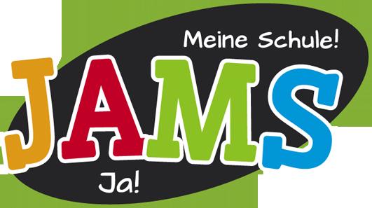 mediadesign linke Logoentwicklung / Logodesign für die Jams Schule