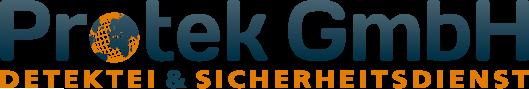 mediadesign linke Logoentwicklung / Logodesign Protek GmbH - Detektei- und SIcherheitsdienst in Essen