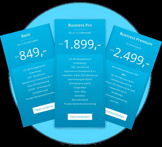 Webdesign aus Essen mit mediadesign linke - Preise und angebote mit welovewebsites - wir lieben webseiten